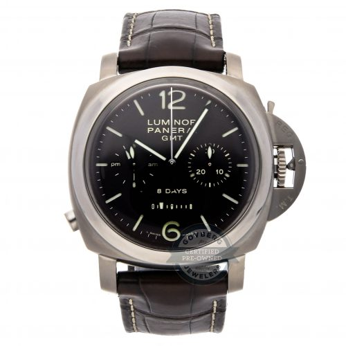 Replica Luxury Watches Panerai Luminor 1950 Chrono Monopulsante 8-days Gmt Titanio Pam 311