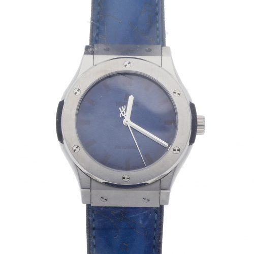 Hublot Replica Watches Hublot Classic Fushion Berluti Blue Limited Edition 511.Nx.050b.Vr.Ber16