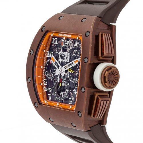 "Fake Watch Richard Mille Rm 011 ""Felipe Massa"" Flyback Chronograph Rm011 Ak Ti"