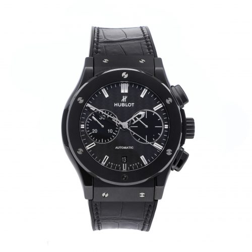 "Fake Hublot Watches Hublot ""Black Magic"" Classic Fusion Chronograph 521.Cm.1770.Rx"