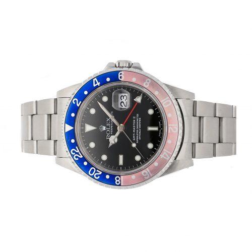Rolex Replicas Swiss Made Grade 1 Rolex Gmt-master Ii 16710 40mm Black Dial