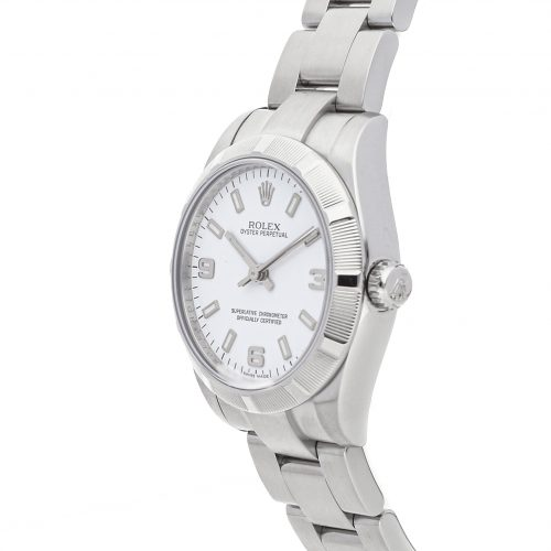 Luxury Replica Watches Rolex Oyster Perpetual 177210 31mm White Dial