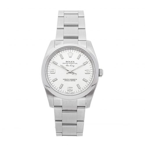 Best Replica Rolex Rolex Air-king 114200 34mm Silver Dial