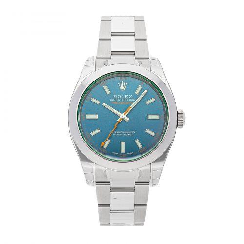 Rolex Replica Rolex Milgauss 116400gv 40mm Blue Dial