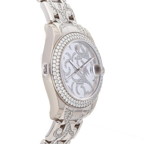 Replica Watch Info Rolex Datejust Pearlmaster 81339