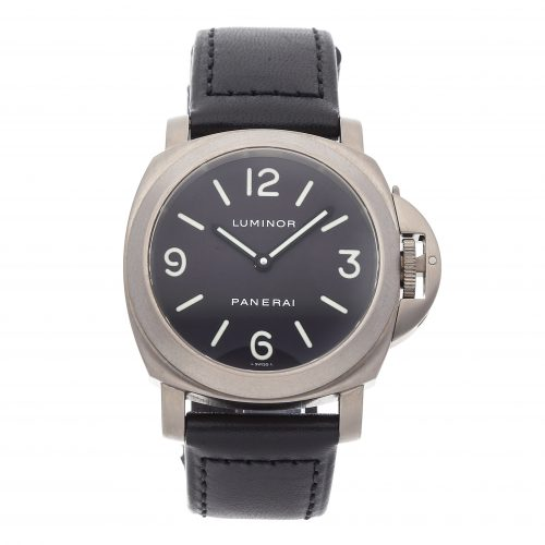 Panerai Replicas Watches Panerai Luminor Base Pam 55
