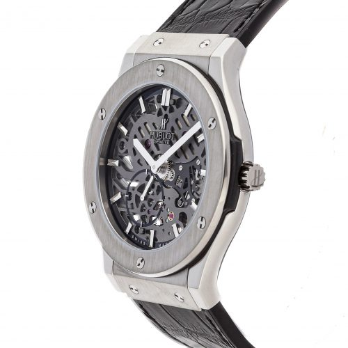 Hublot Big Bang Replica Hublot Classic Fusion Ultra Thin Skeleton 515.Nx.0170.Lr