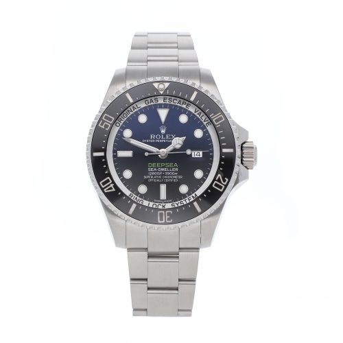 """Fake Rolexes Rolex Deepsea Sea-dweller """"Deep Blue"""" 116660"""