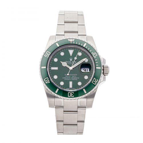 """Best Replica Watch Site Rolex Submariner """"Hulk"""" 116610lv"""