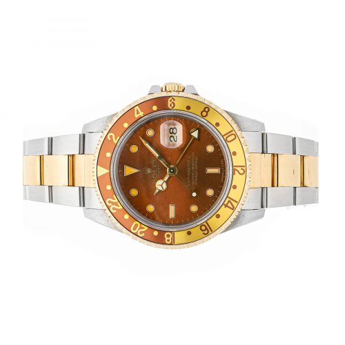 "Fake Presidential Rolex Rolex Gmt Master Ii ""Rootbeer"" 16713"