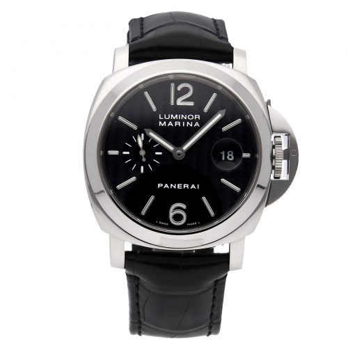 Black Men Replica Panerai Luminor Marina Pam 180 Mechanical Automatic