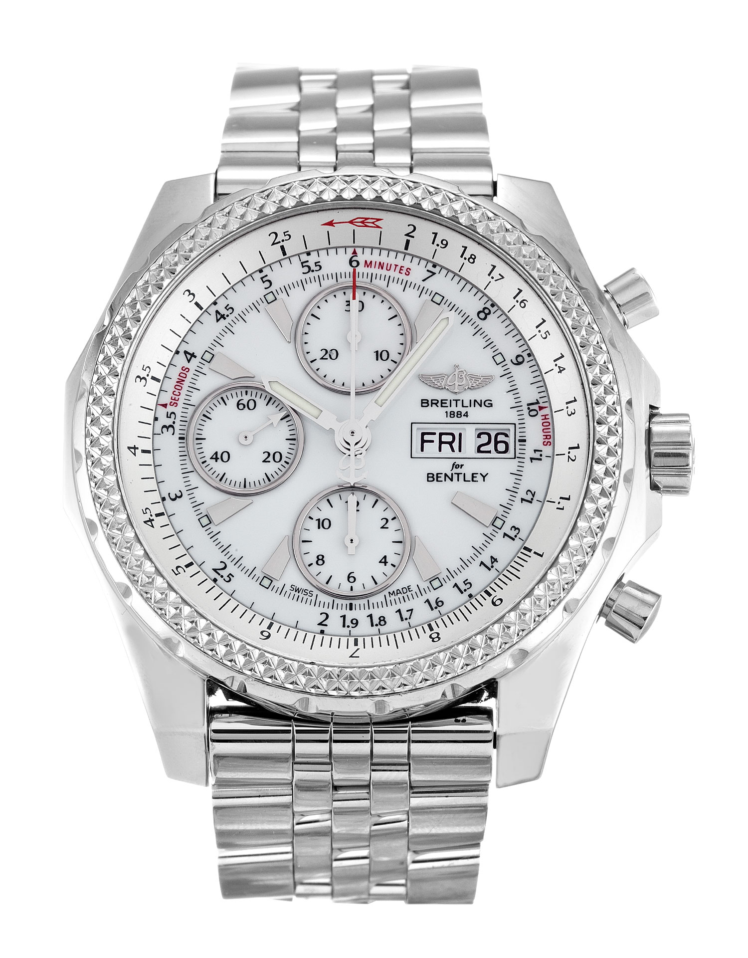Breitling Bentley Gt A13362 Mens 44.8 Mm Steel Case Automatic Movement – iapac.to