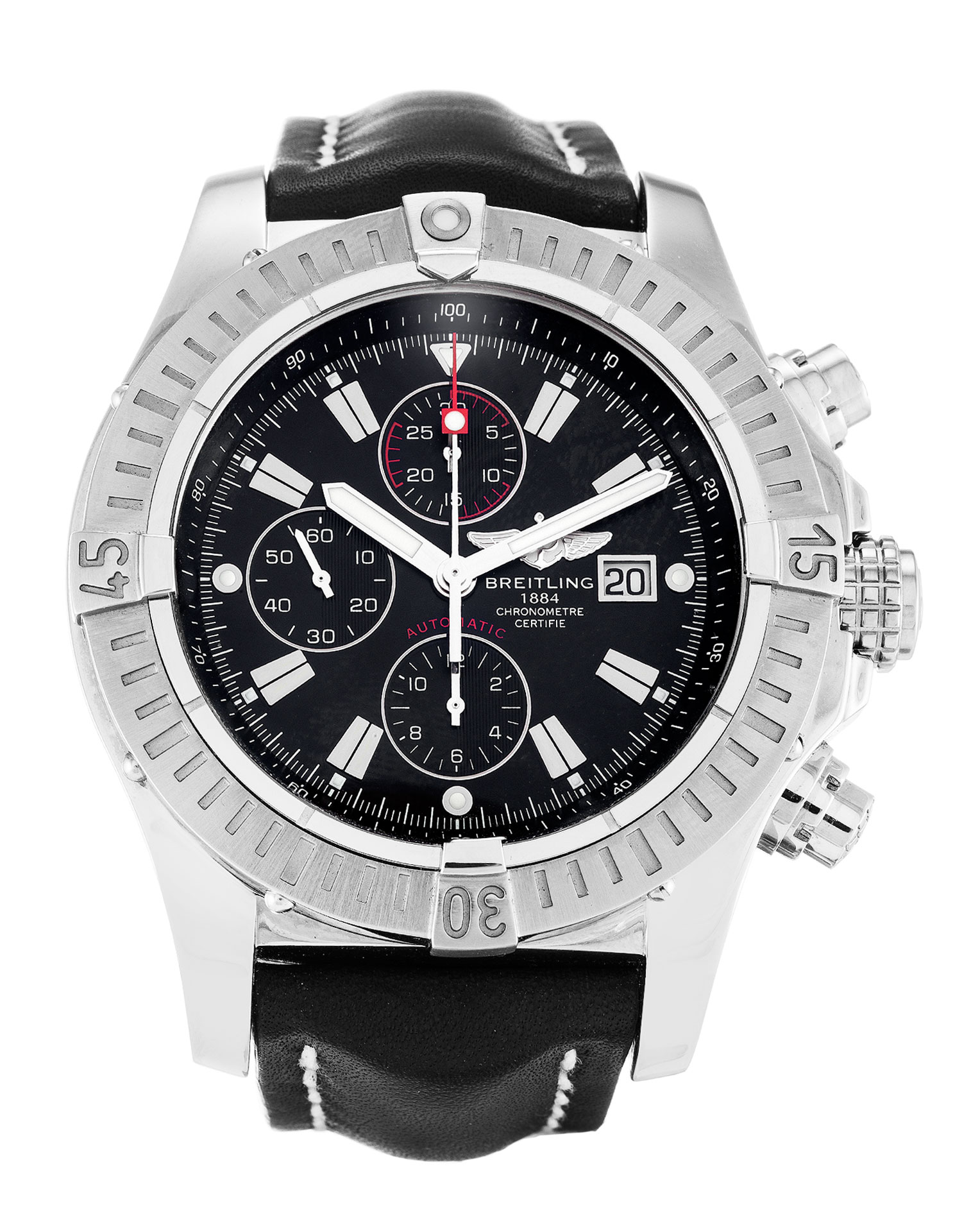 Breitling Super Avenger A13370 Mens 48.4 Mm Steel Case Quartz Movement – iapac.to