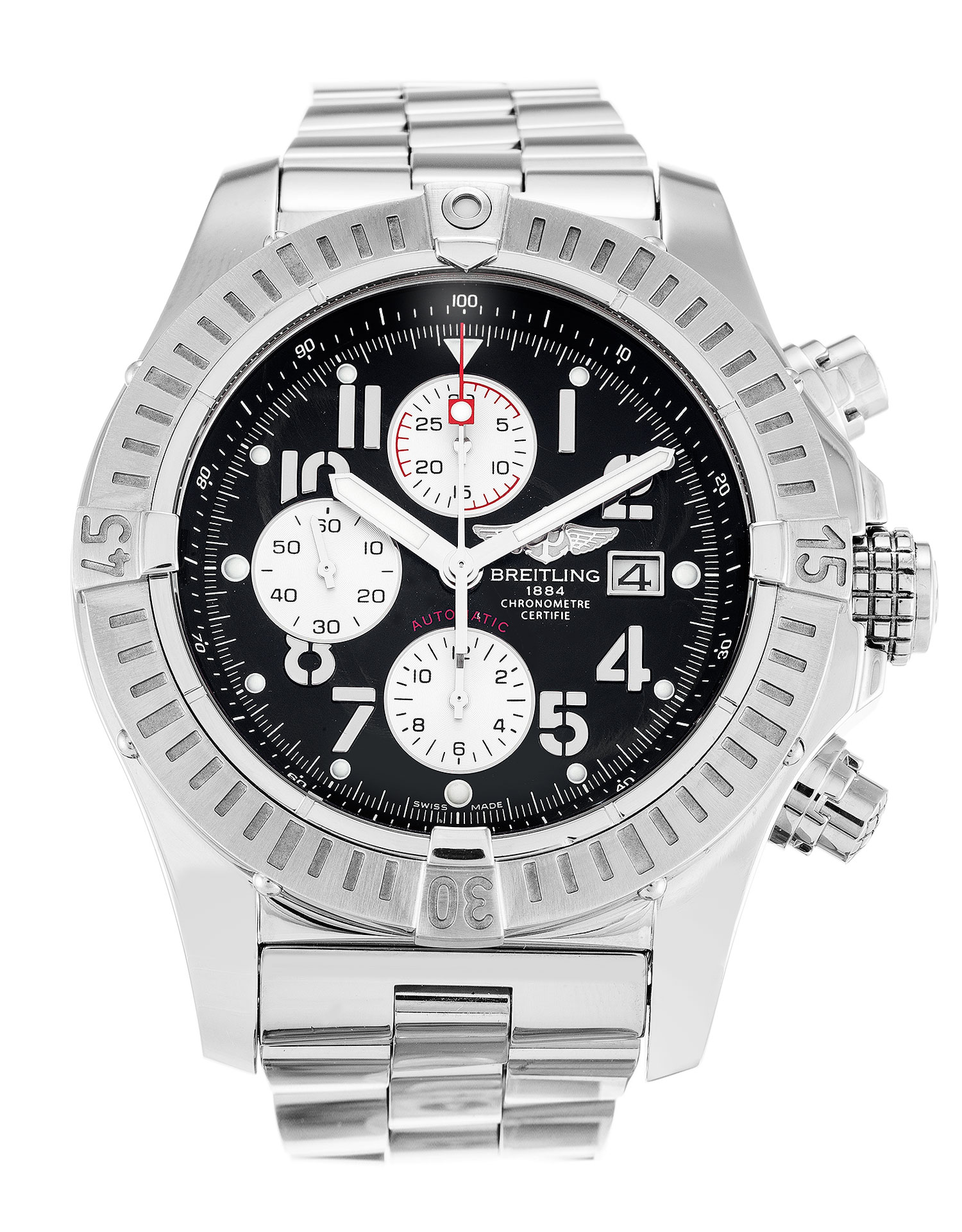 Breitling Super Avenger A13370 Mens 48.4 Mm Steel Case Automatic Movement – iapac.to