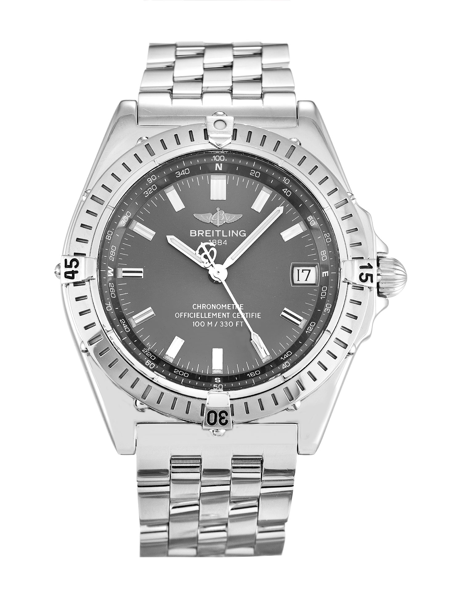 Breitling Wings Automatic A10350 Mens 40 Mm Steel Case Automatic Movement – iapac.to
