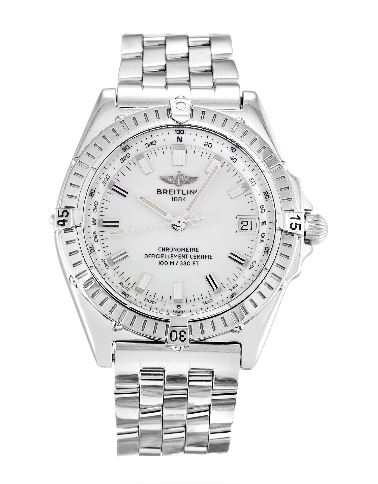 Breitling Wings Automatic A10350 Mens 38 Mm Steel Case Automatic Movement – iapac.to