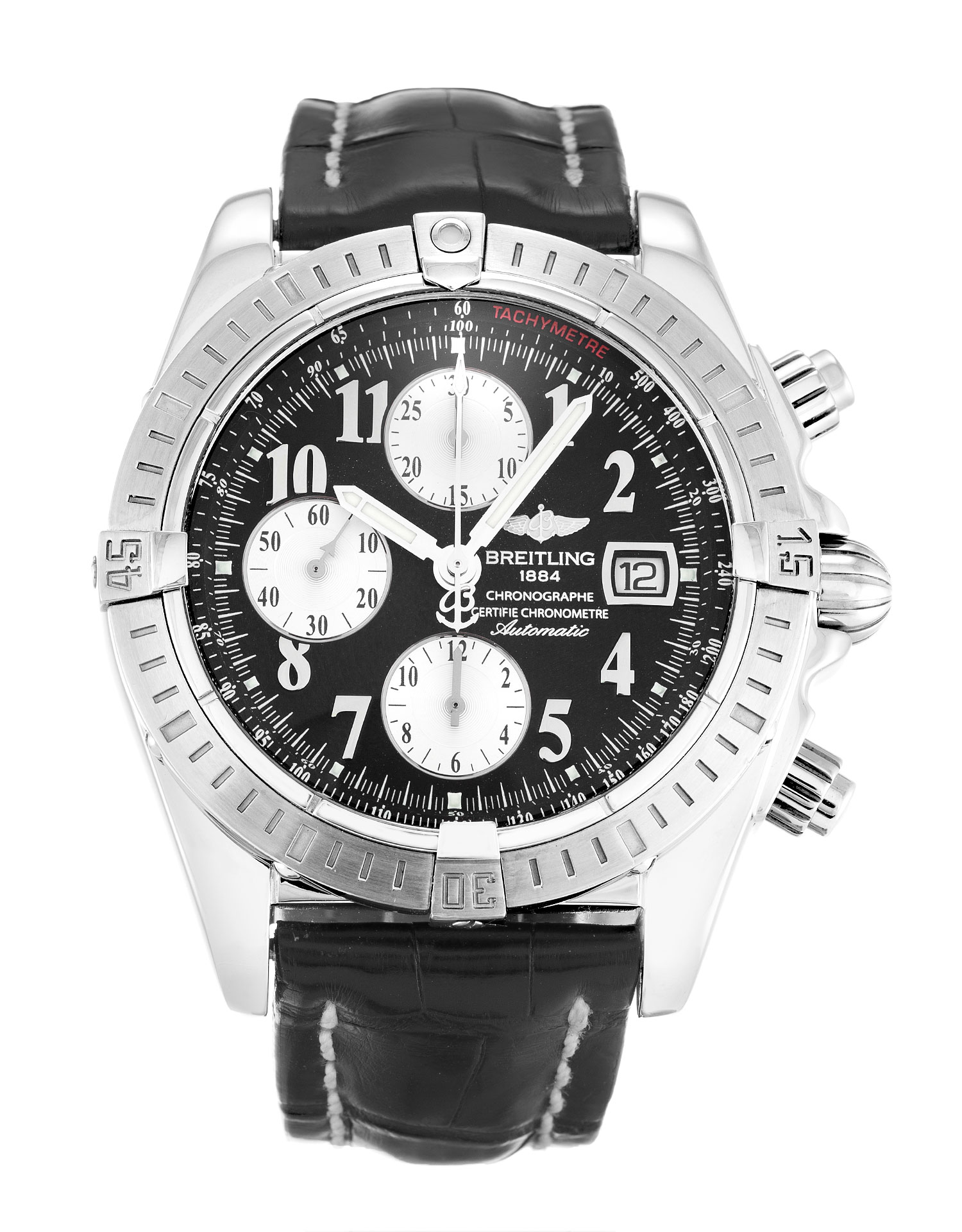 Breitling Chronomat Evolution A13356 Mens 43.7 Mm Steel Case Automatic Movement – iapac.to