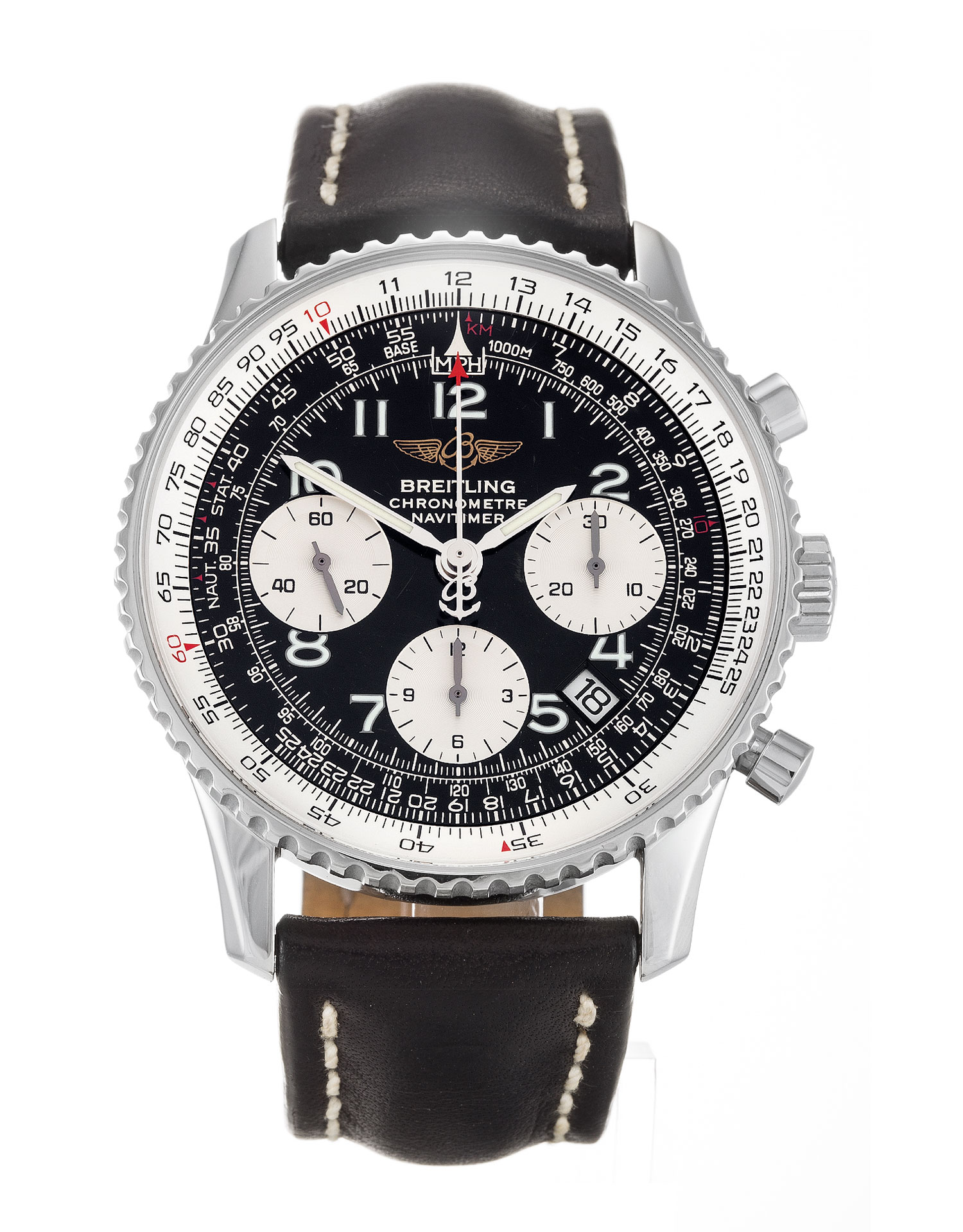 Breitling Navitimer A23322 Mens 41.8 Mm Steel Case Quartz Movement – iapac.to