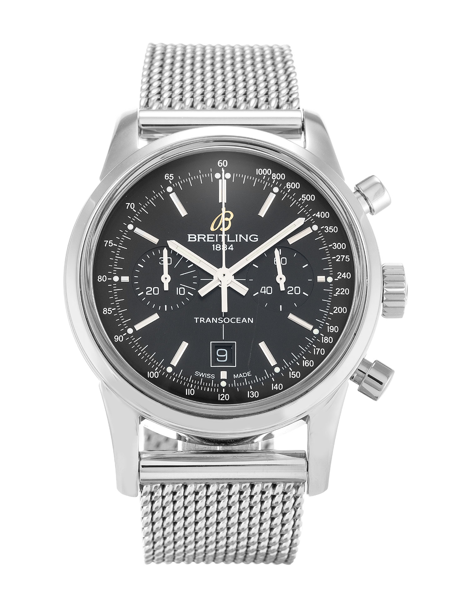 Breitling Transocean Chronograph A41310 Mens 38 Mm Steel Case Quartz Movement – iapac.to