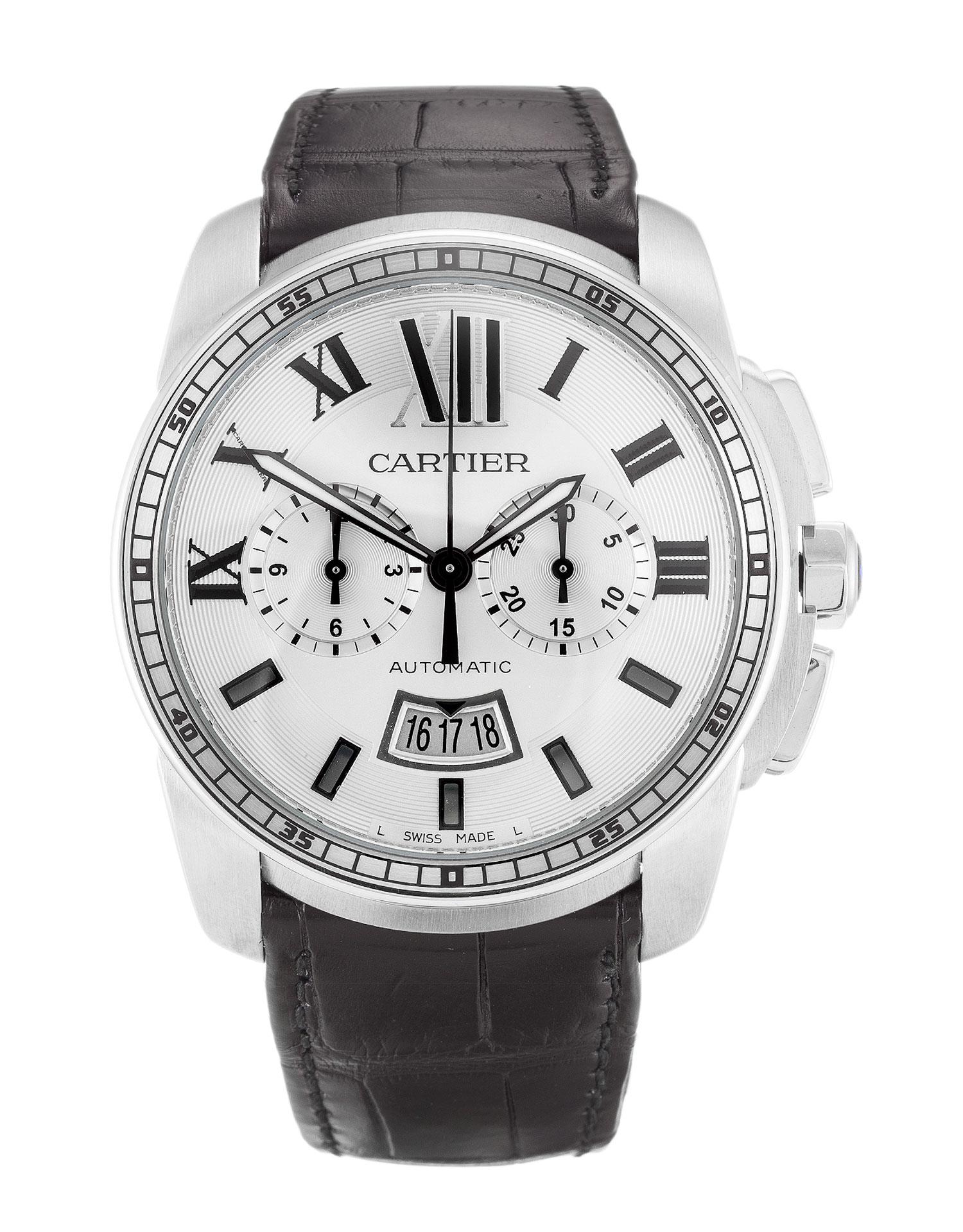 Cartier Calibre De Cartier W7100046 Mens 42 Mm Steel Case Quartz Movement – iapac.to