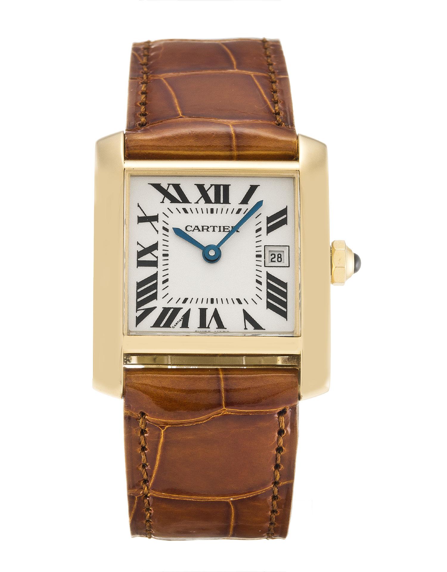 Cartier Tank Francaise W5001456 Unisex 31 Mm Yellow Gold Case Quartz Movement – iapac.to