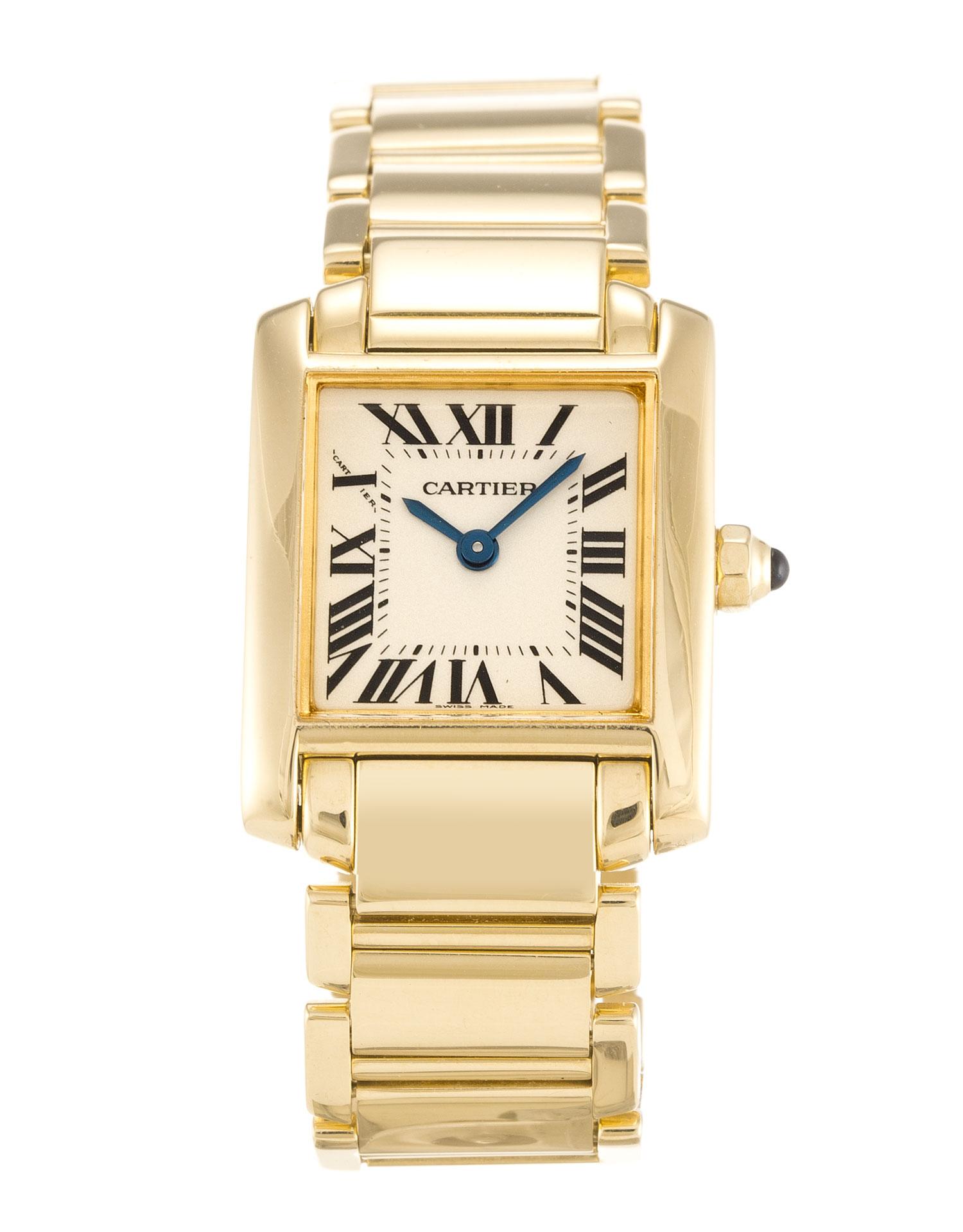 Cartier Tank Francaise W50002n2 Ladies 25 Mm Yellow Gold Case Quartz Movement – iapac.to