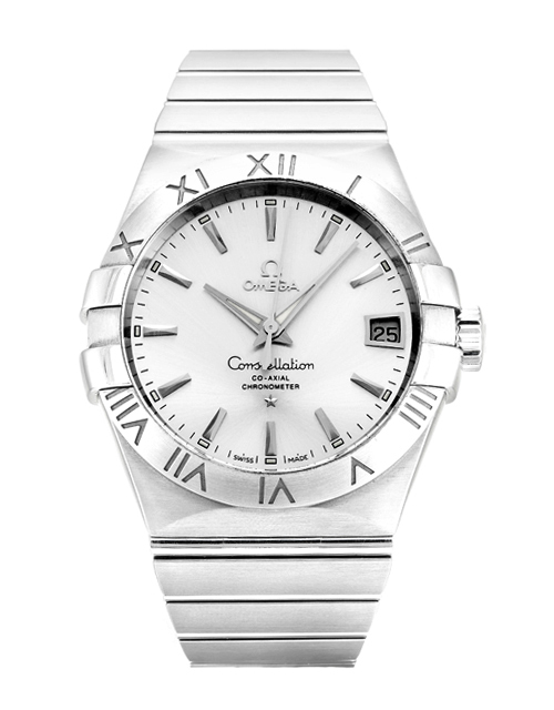 Omega Constellation 123.10.38.21.02.001 Mens 38 Mm Steel Case Automatic Co-axial Movement – iapac.to