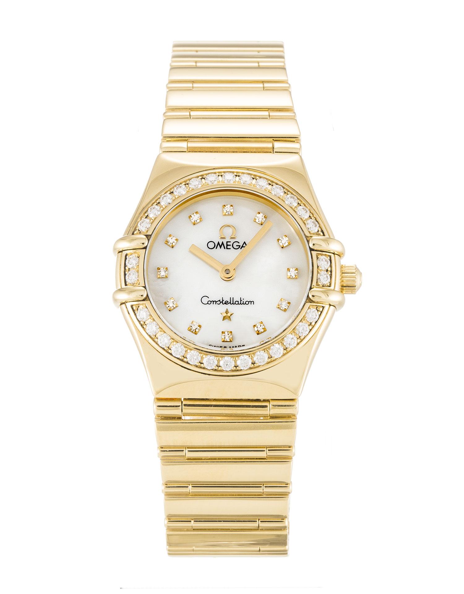 Omega My Choice Mini 1164.75.00 Ladies 22.5 Mm Yellow Gold Set With Diamonds Case Quartz Movement – iapac.to