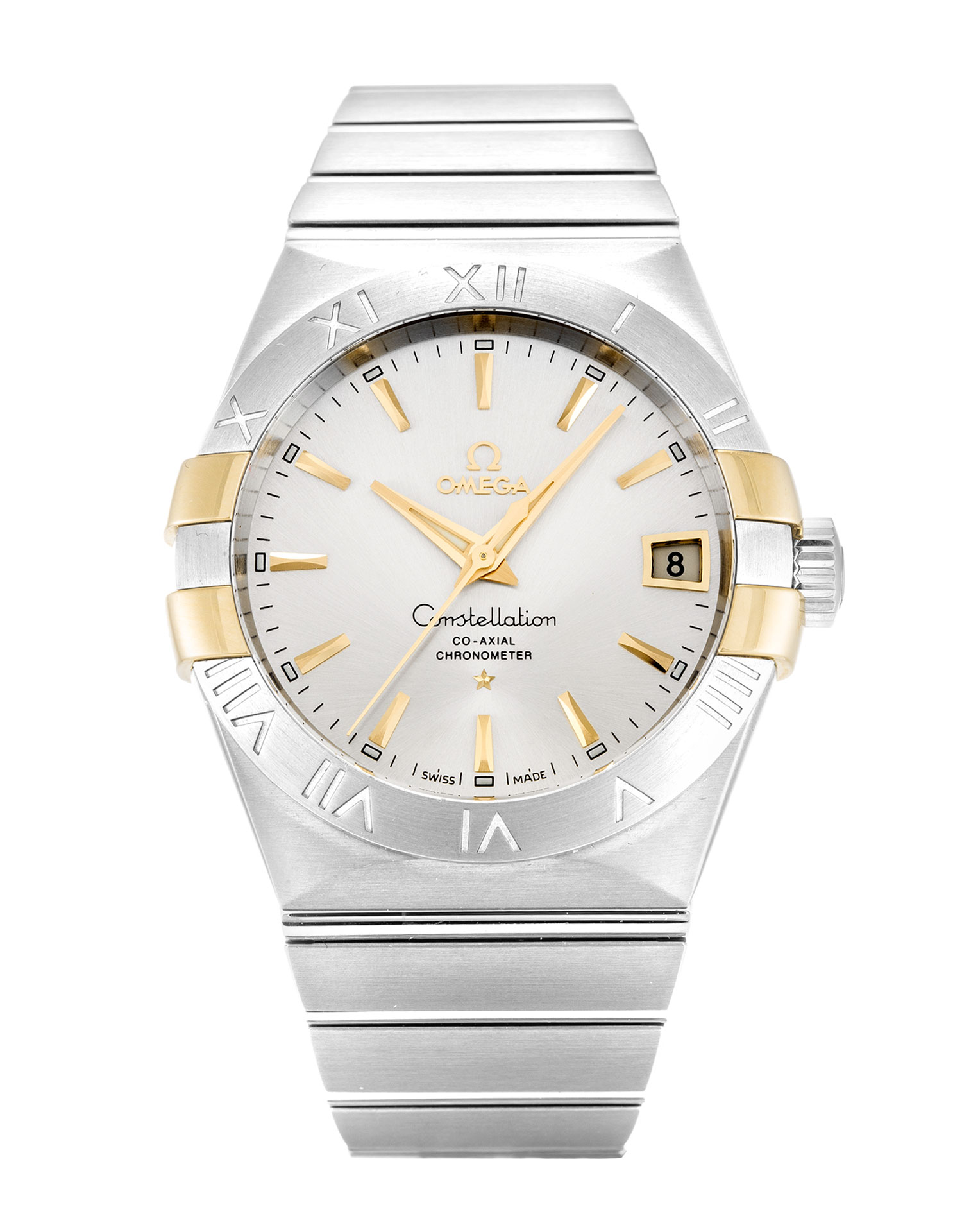 Omega Constellation 123.20.38.21.02.005 Mens 38 Mm Steel & Yellow Gold Case Automatic Movement – iapac.to