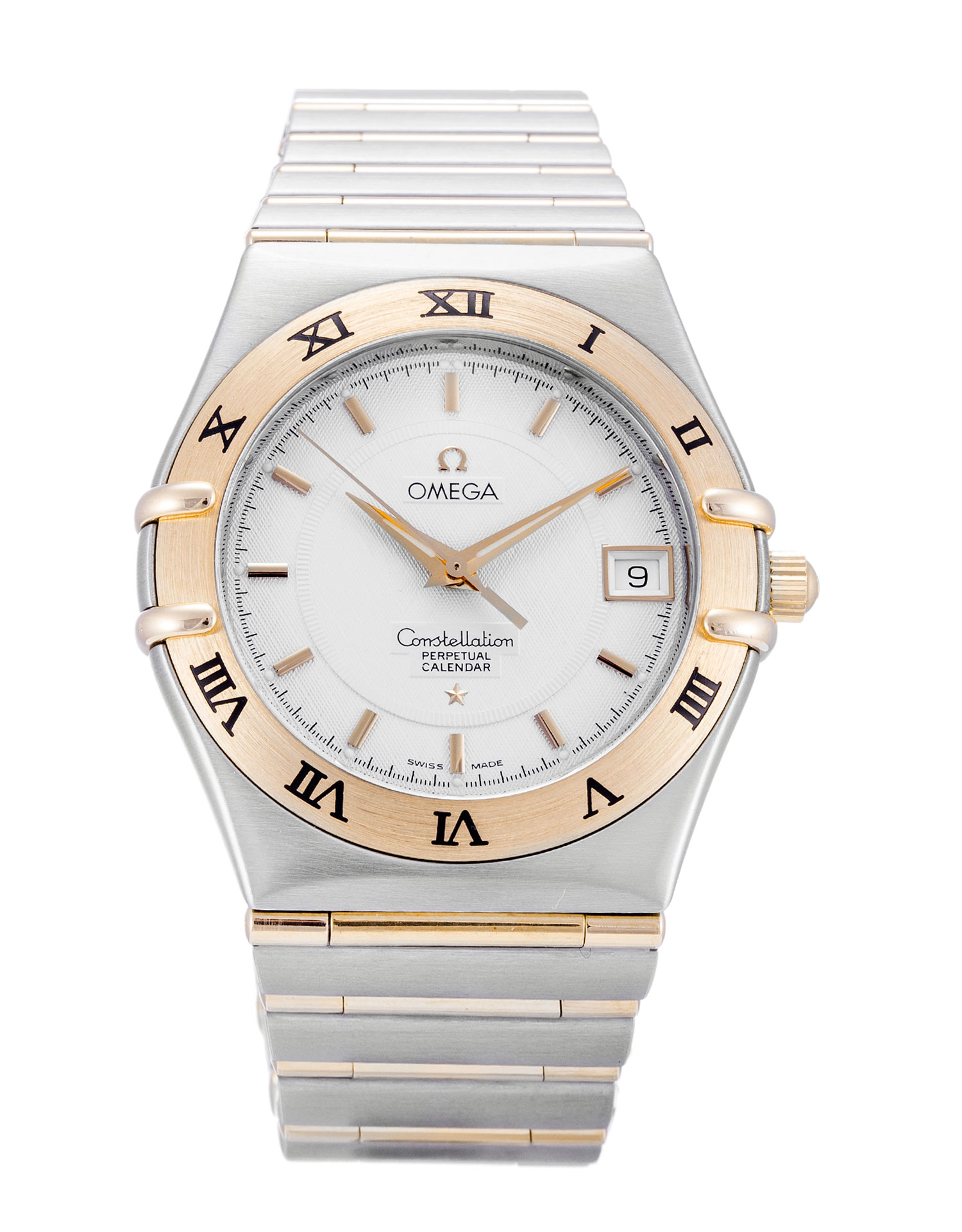 Omega Constellation 1252.30.00 Mens 33.5 Mm Steel & Yellow Gold Case Quartz Movement – iapac.to
