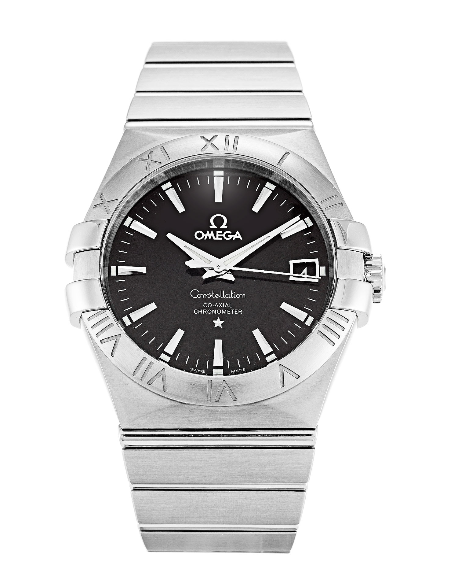 Omega Constellation 123.10.35.20.01.001 Mens 35 Mm Steel Case Automatic Co-axial Movement – iapac.to