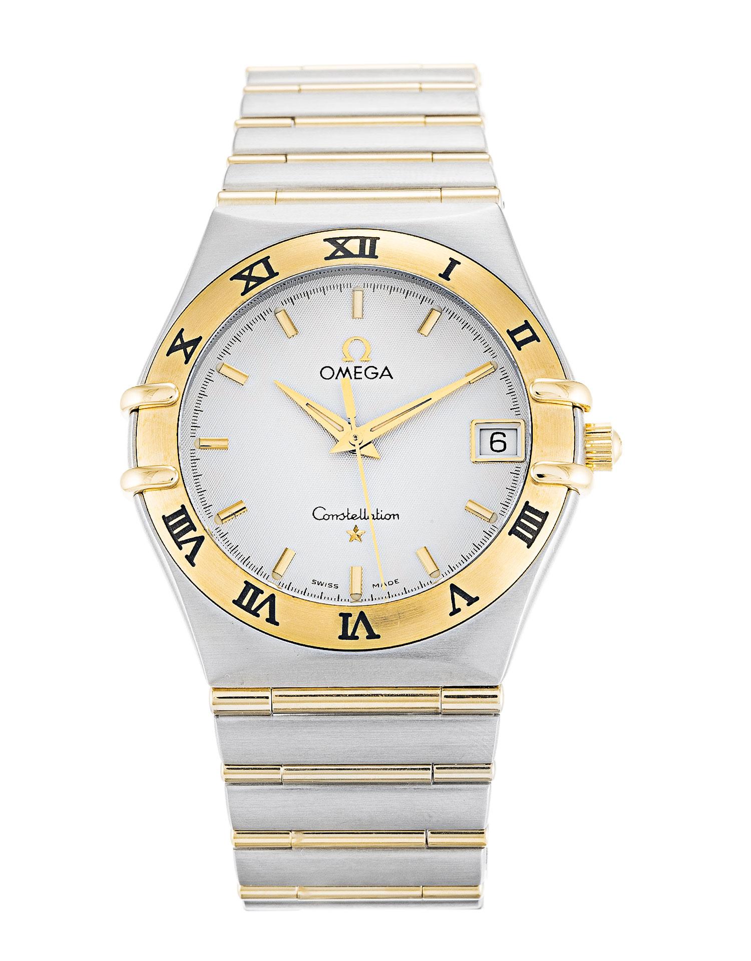 Omega Constellation 1212.30.00 Mens 33.5 Mm Steel & Yellow Gold Case Quartz Movement – iapac.to