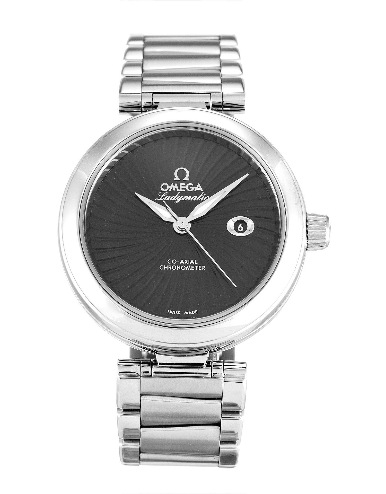 Omega De Ville Ladymatic 425.30.34.20.01.001 Ladies 34 Mm Steel Case Automatic Co-axial Movement – iapac.to