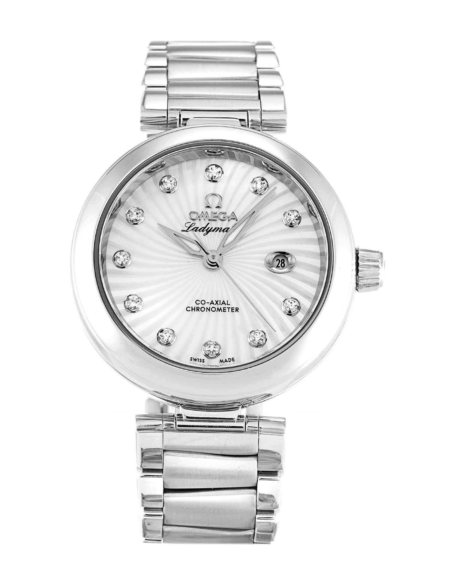 Omega De Ville Ladymatic 425.30.34.20.55.001 Ladies 34 Mm Steel Case Automatic Co-axial Movement – iapac.to
