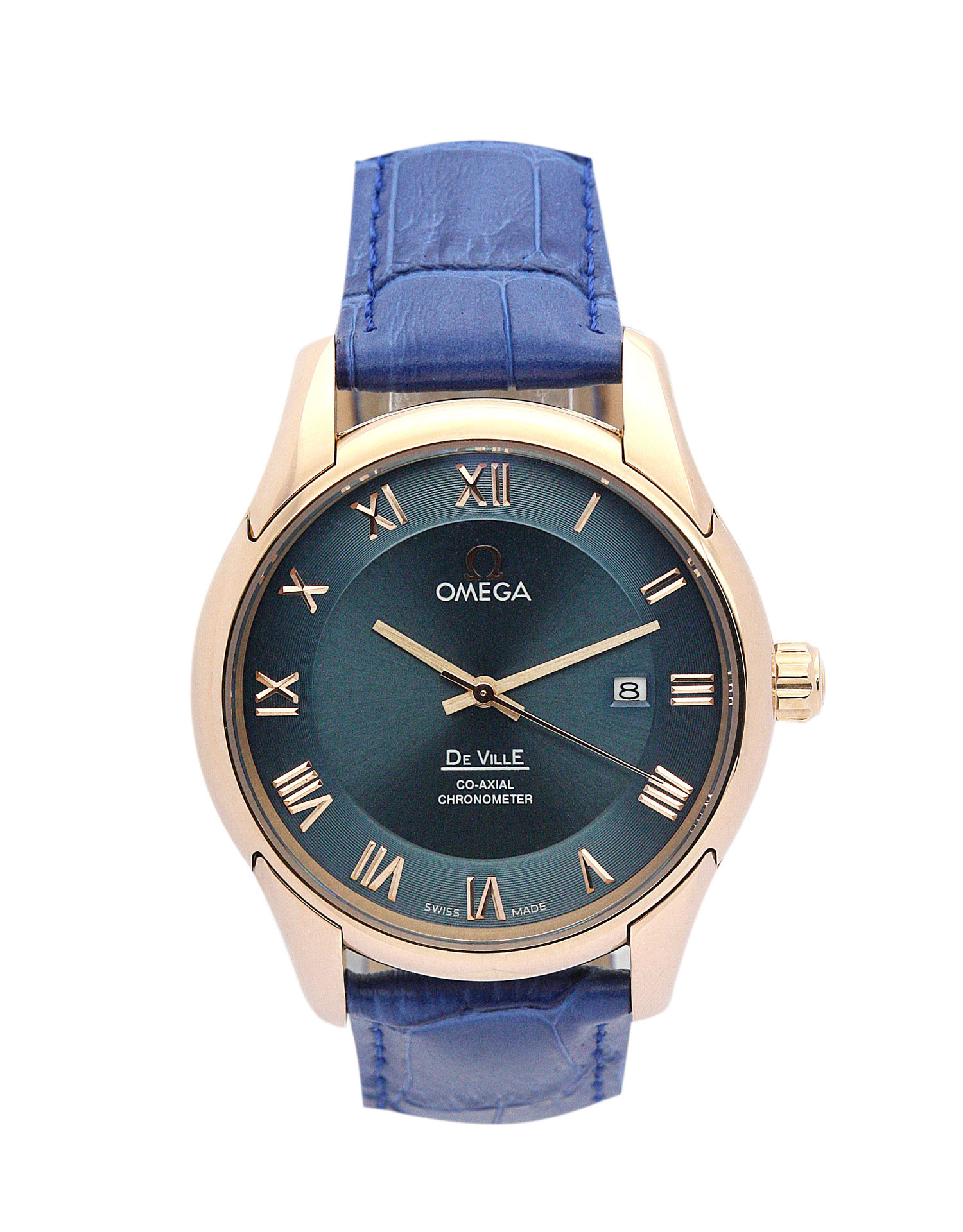 Omega De Ville Hour Vision 431.33.41.21.01.001 Mens 41 Mm Rose Gold Steel Case Automatic Co-axial Movement – iapac.to