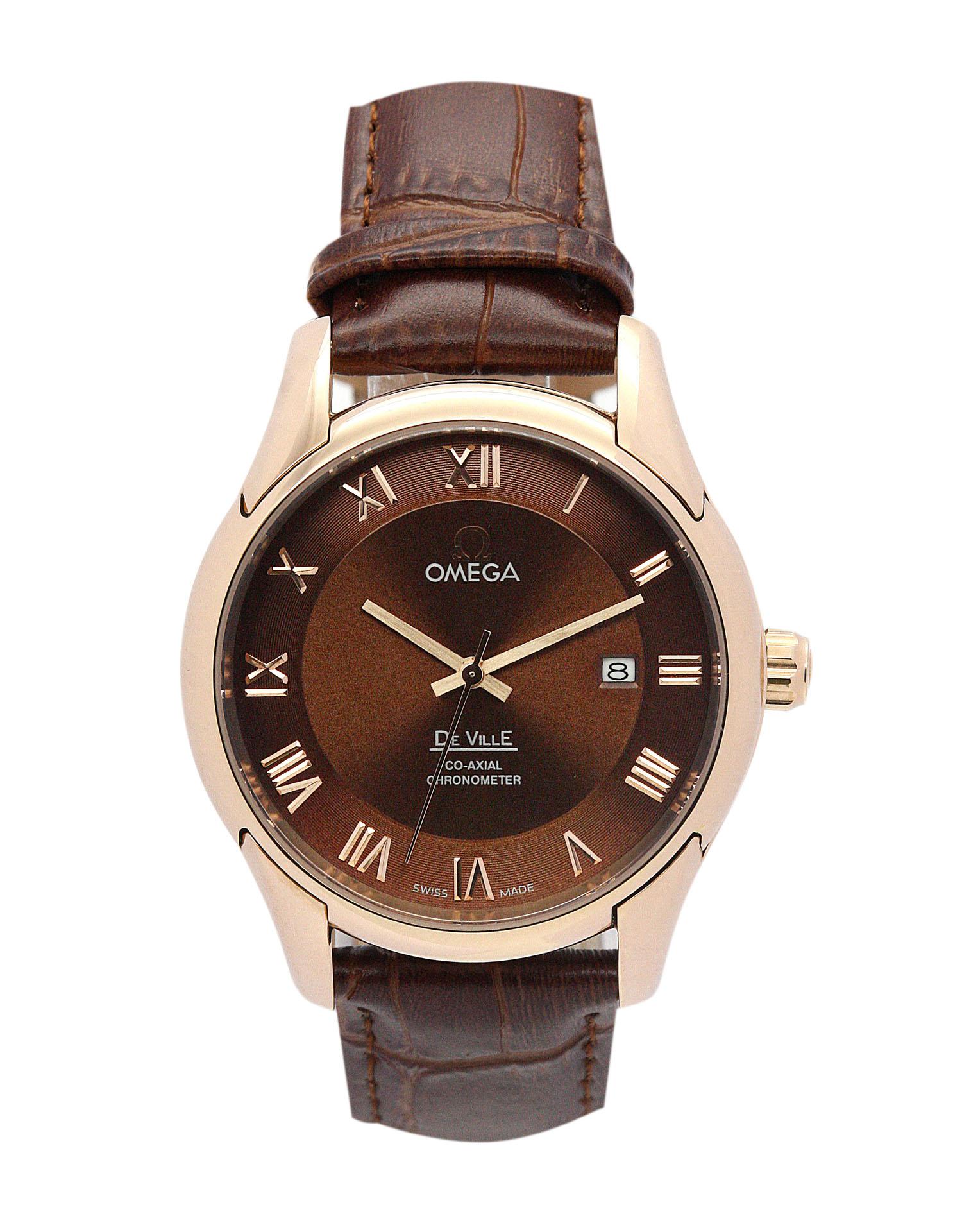 Omega De Ville Hour Vision De Ville Hour Vision Mens 41 Mm Rose Gold Steel Case Automatic Co-axial Movement – iapac.to