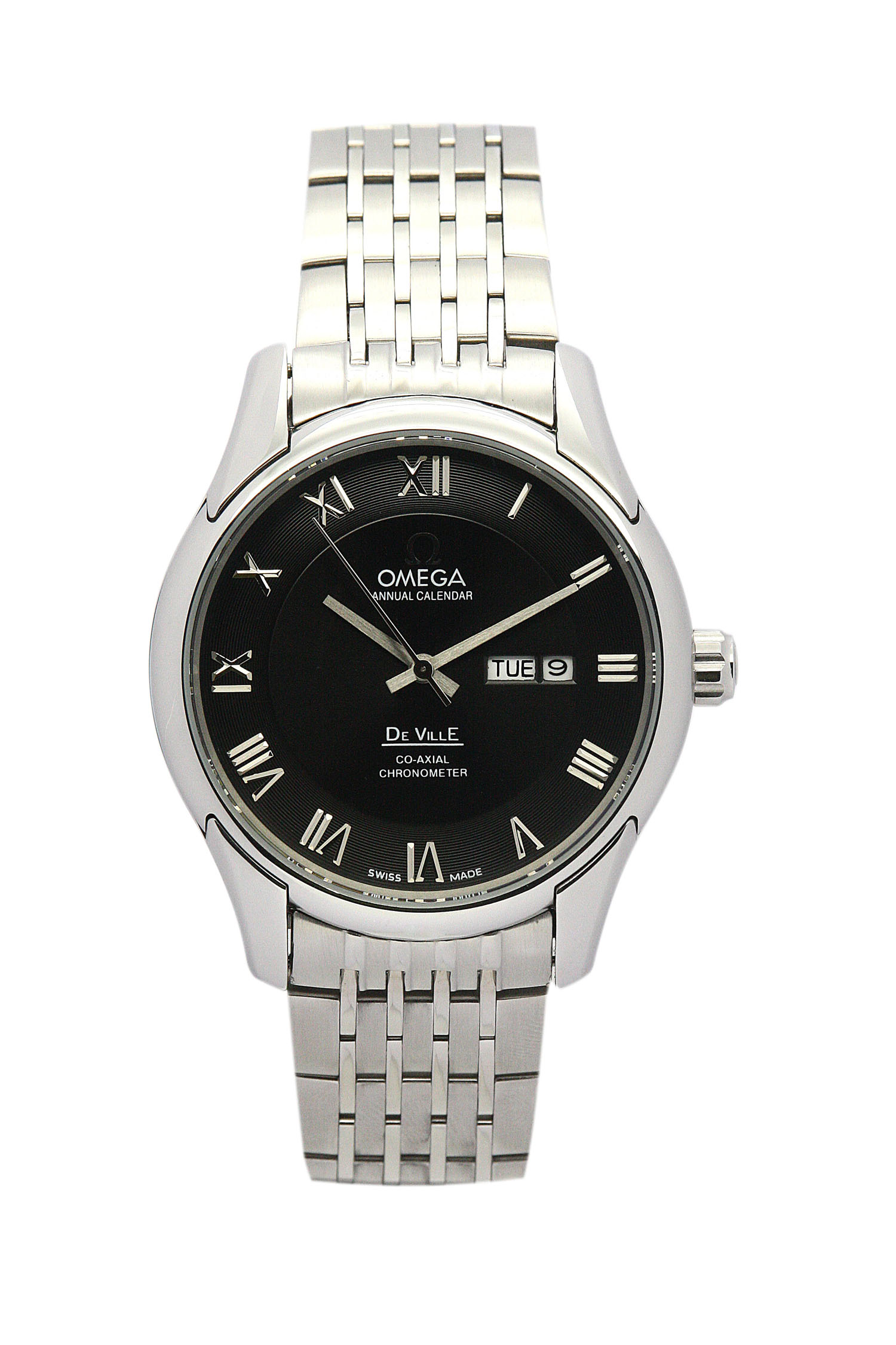Omega De Ville Hour Vision 431.33.41.21.01.001 Mens 41 Mm Steel Case Automatic Co-axial Movement – iapac.to