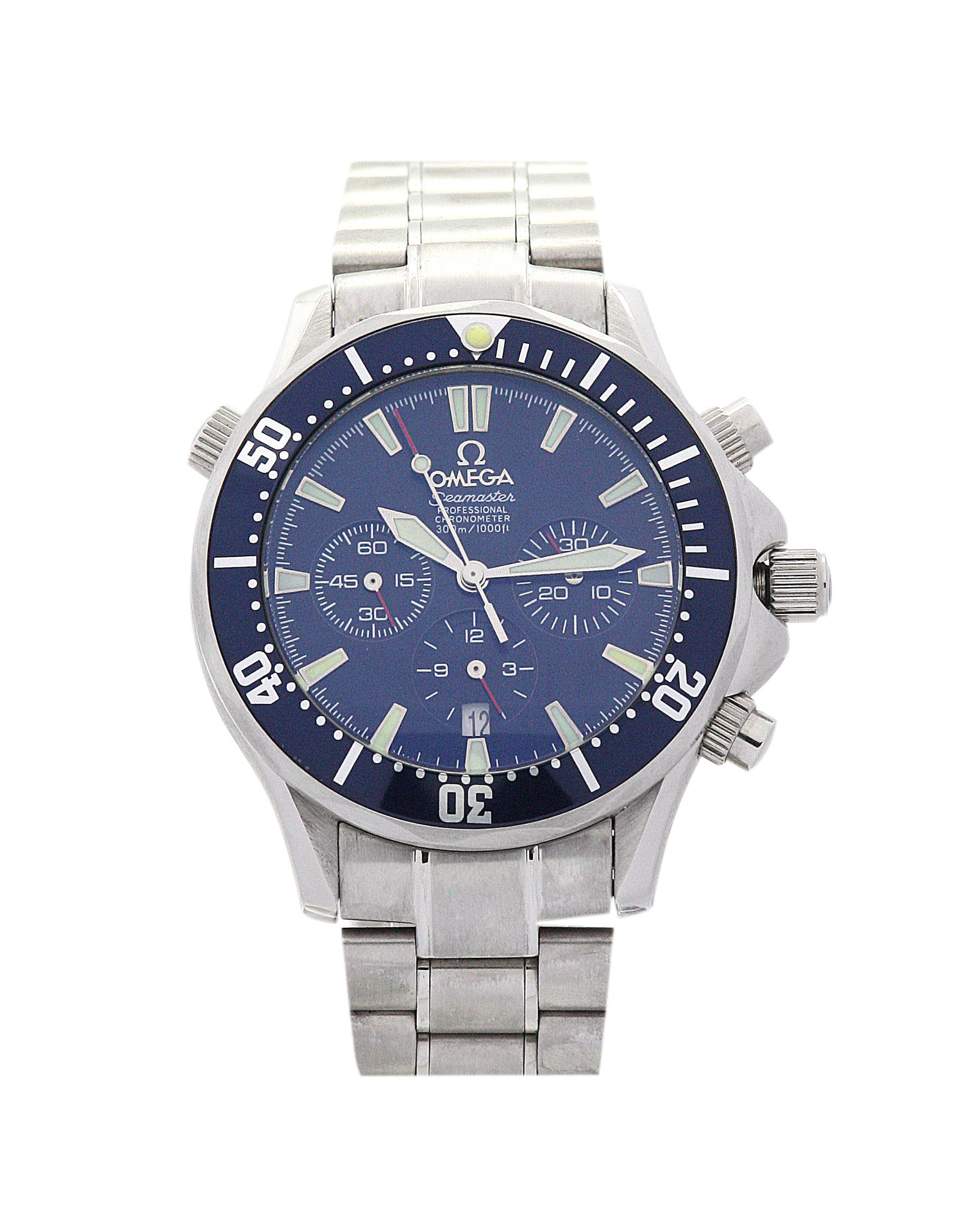 Omega Speedmaster Date 3811.80.03 Mens 38 Mm Blue And Steel Case Automatic Movement – iapac.to