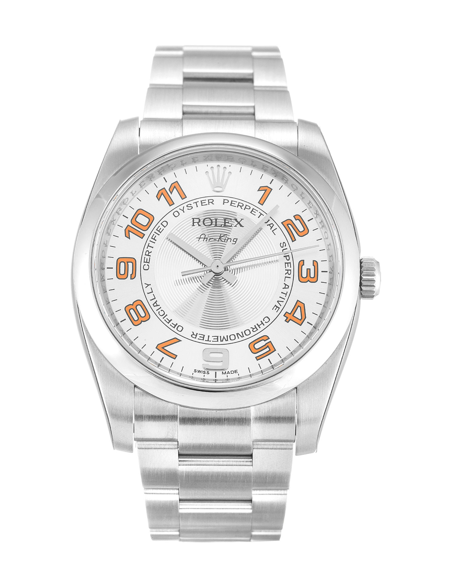 Rolex Air-king 114200 Unisex 34 Mm Steel Case Automatic Movement – iapac.to