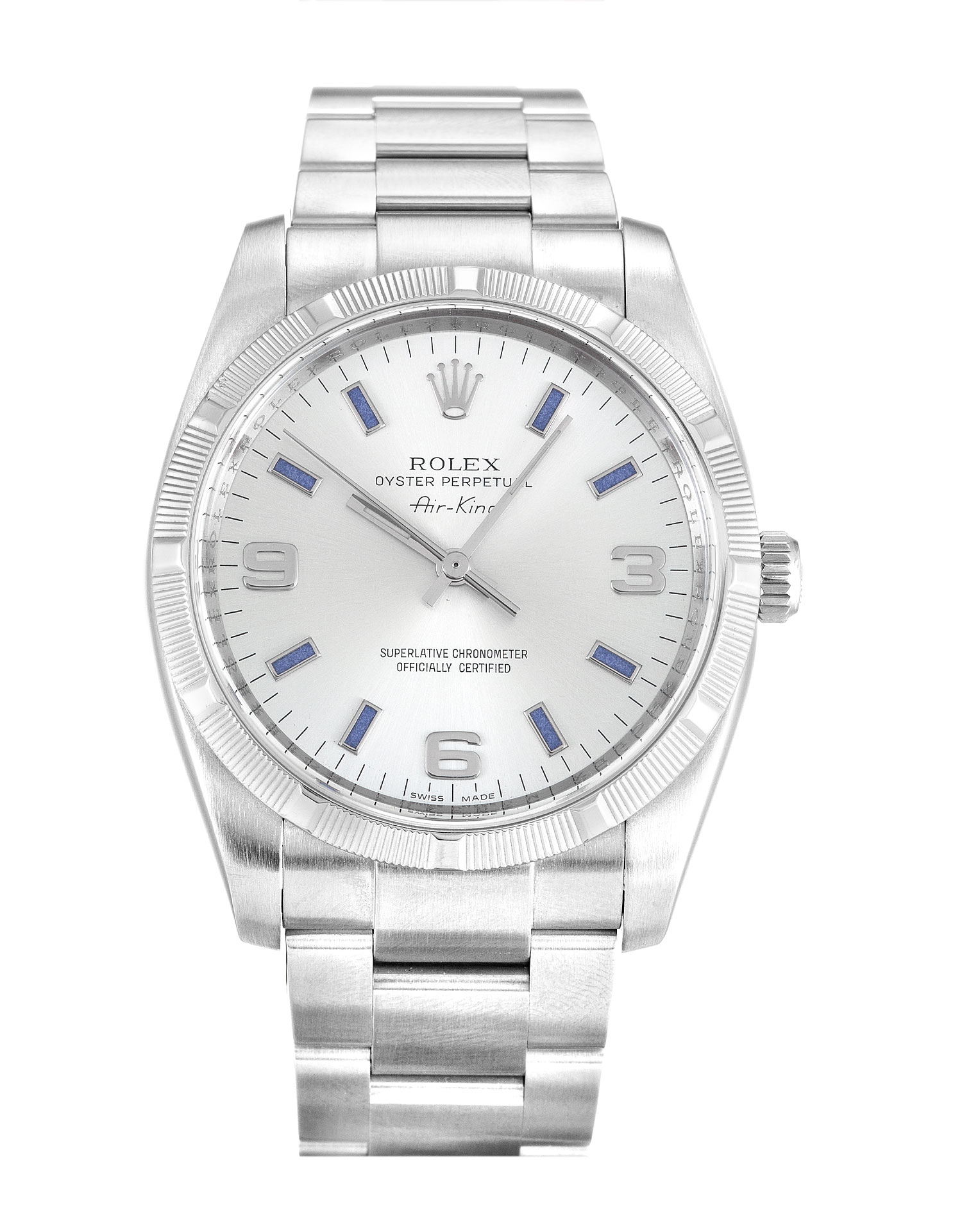 Rolex Air-king 114210 Unisex 34 Mm Steel Case Automatic Movement – iapac.to