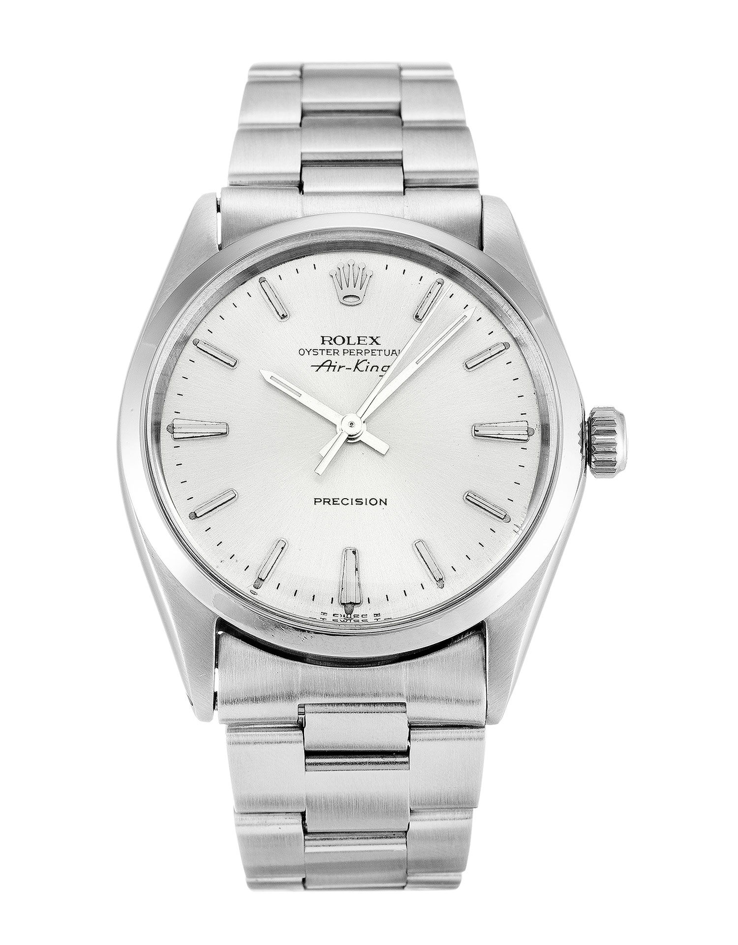 Rolex Air-king 5500 Unisex 34 Mm Steel Case Automatic Movement – iapac.to