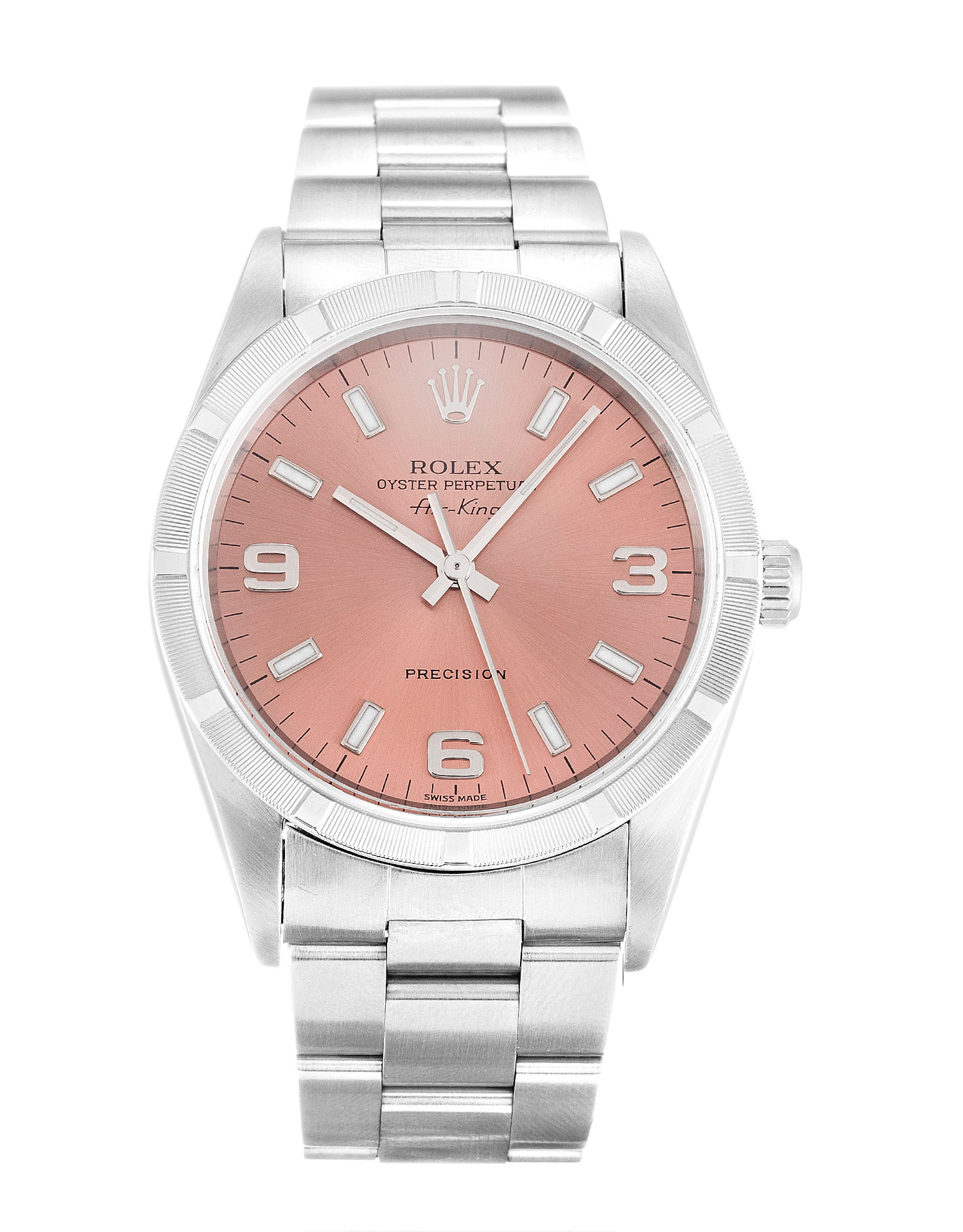 Rolex Air-king 14010m Unisex 34 Mm Steel Case Automatic Movement – iapac.to