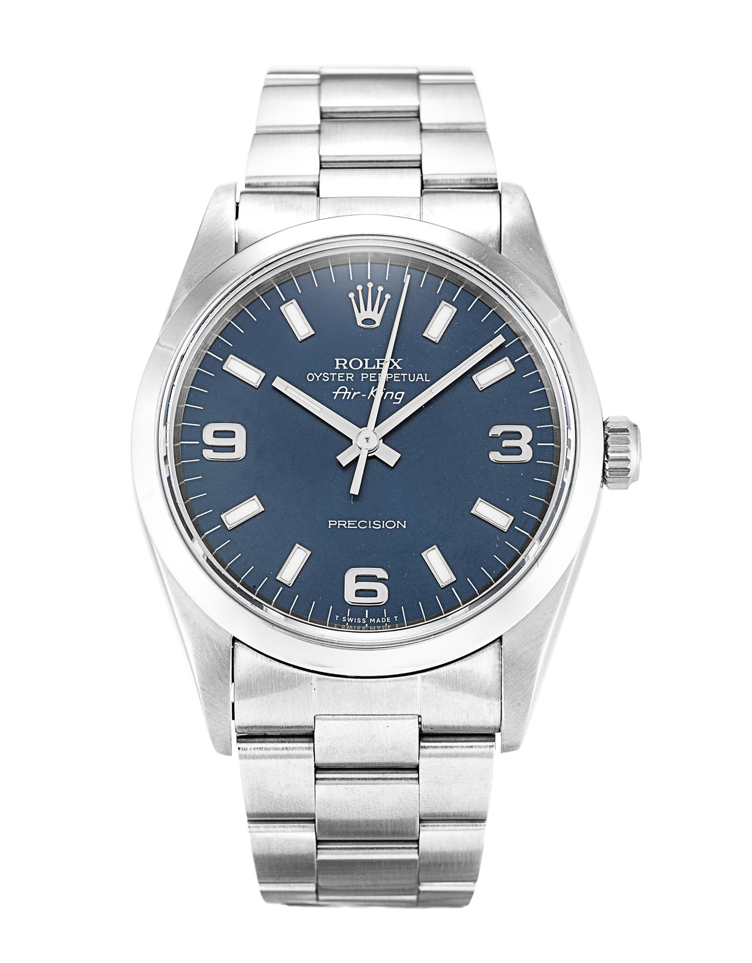Rolex Air-king 14000 Unisex 34 Mm Steel Case Automatic Movement – iapac.to