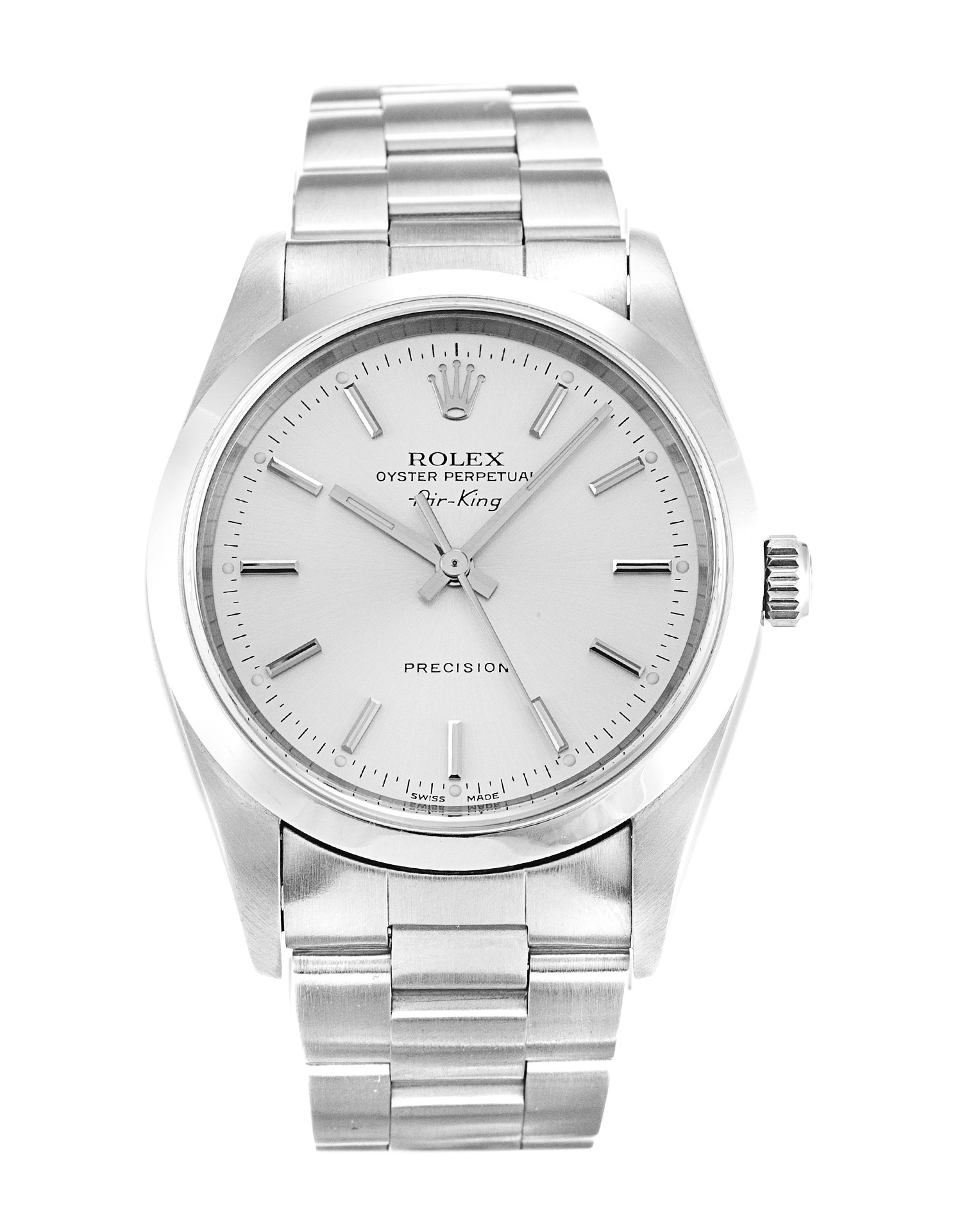 Rolex Air-king 14000m Unisex 34 Mm Steel Case Automatic Movement – iapac.to