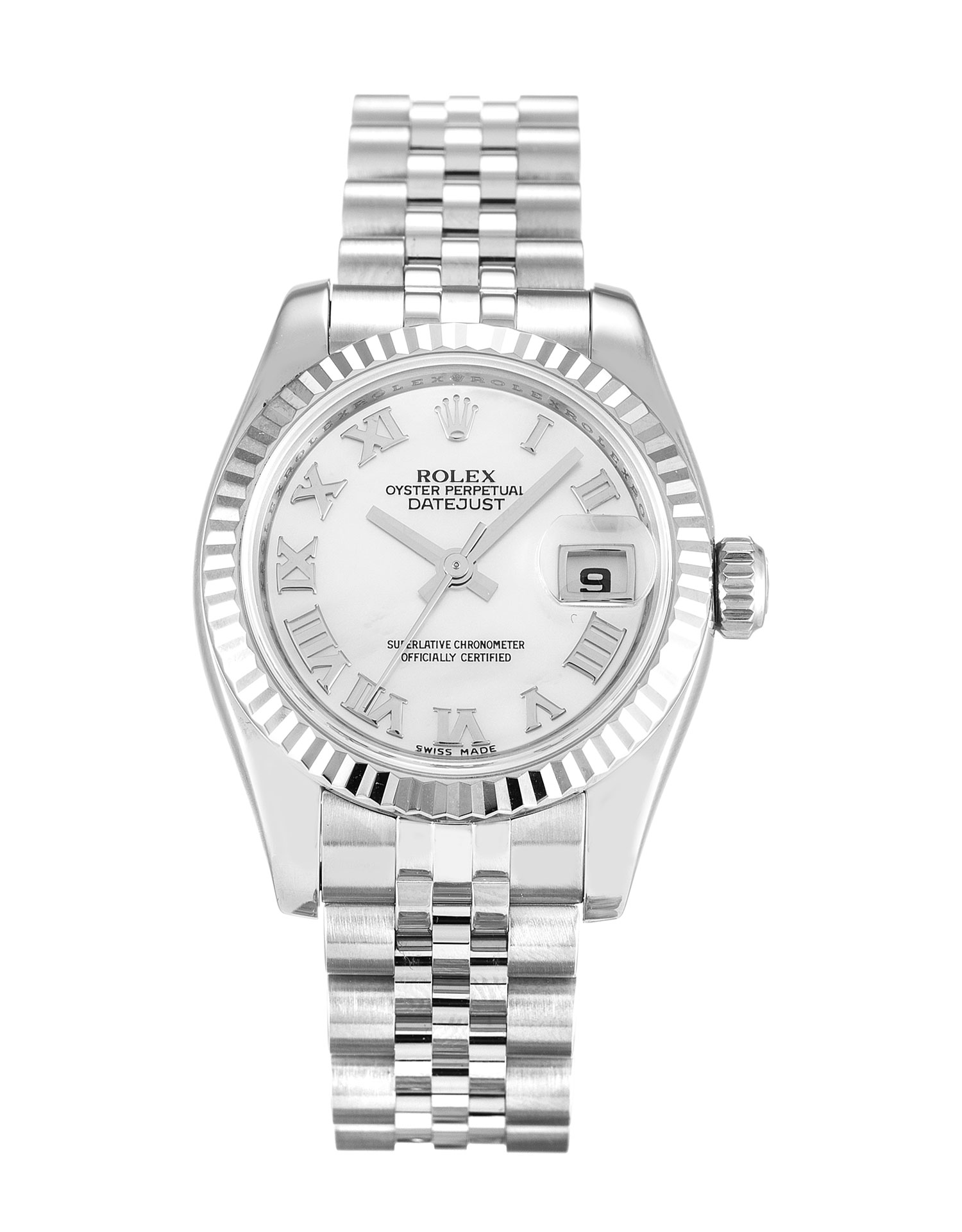 Rolex Datejust Lady 179174 Ladies 26 Mm Steel & White Gold Case Automatic Movement – iapac.to