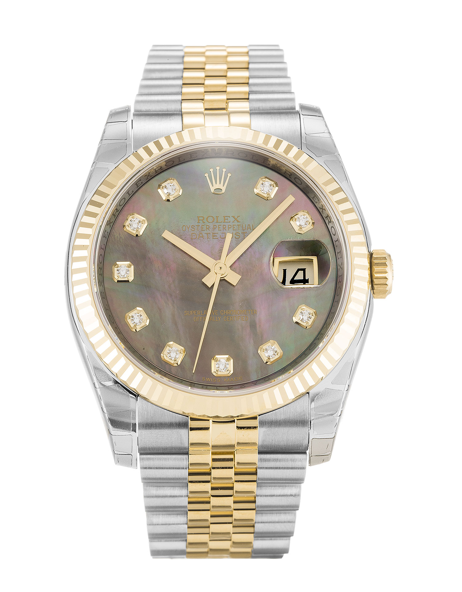Rolex Datejust 116233 Unisex 36 Mm Steel & Yellow Gold Case Automatic Movement – iapac.to