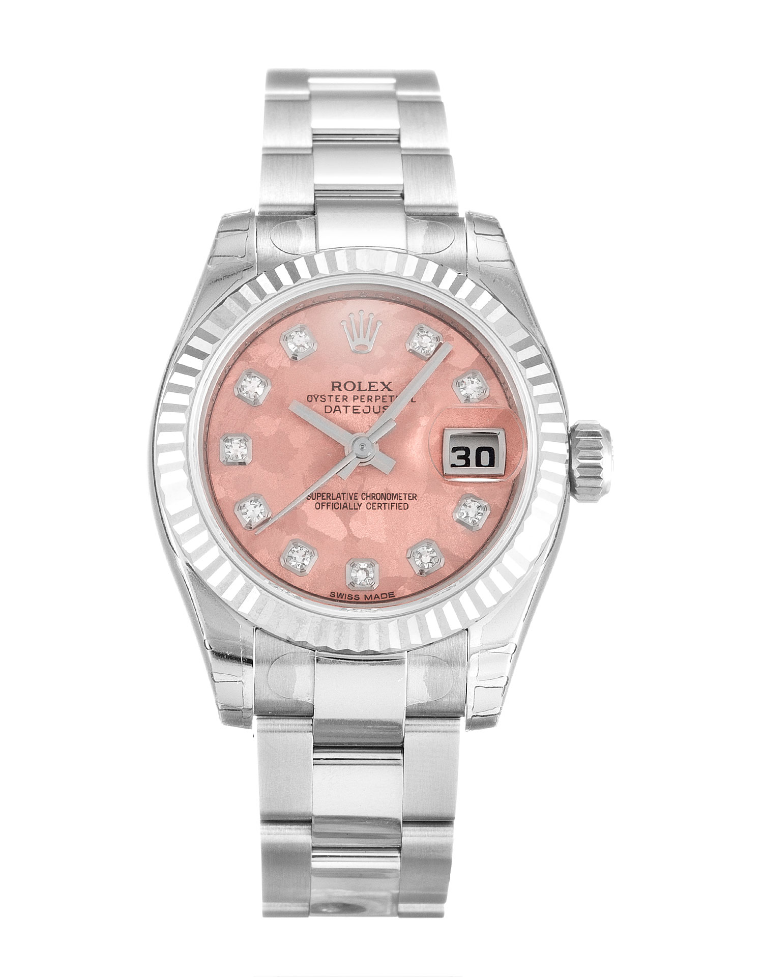 Rolex Datejust Lady 179174 Ladies 26 Mm Steel Case Automatic Movement – iapac.to