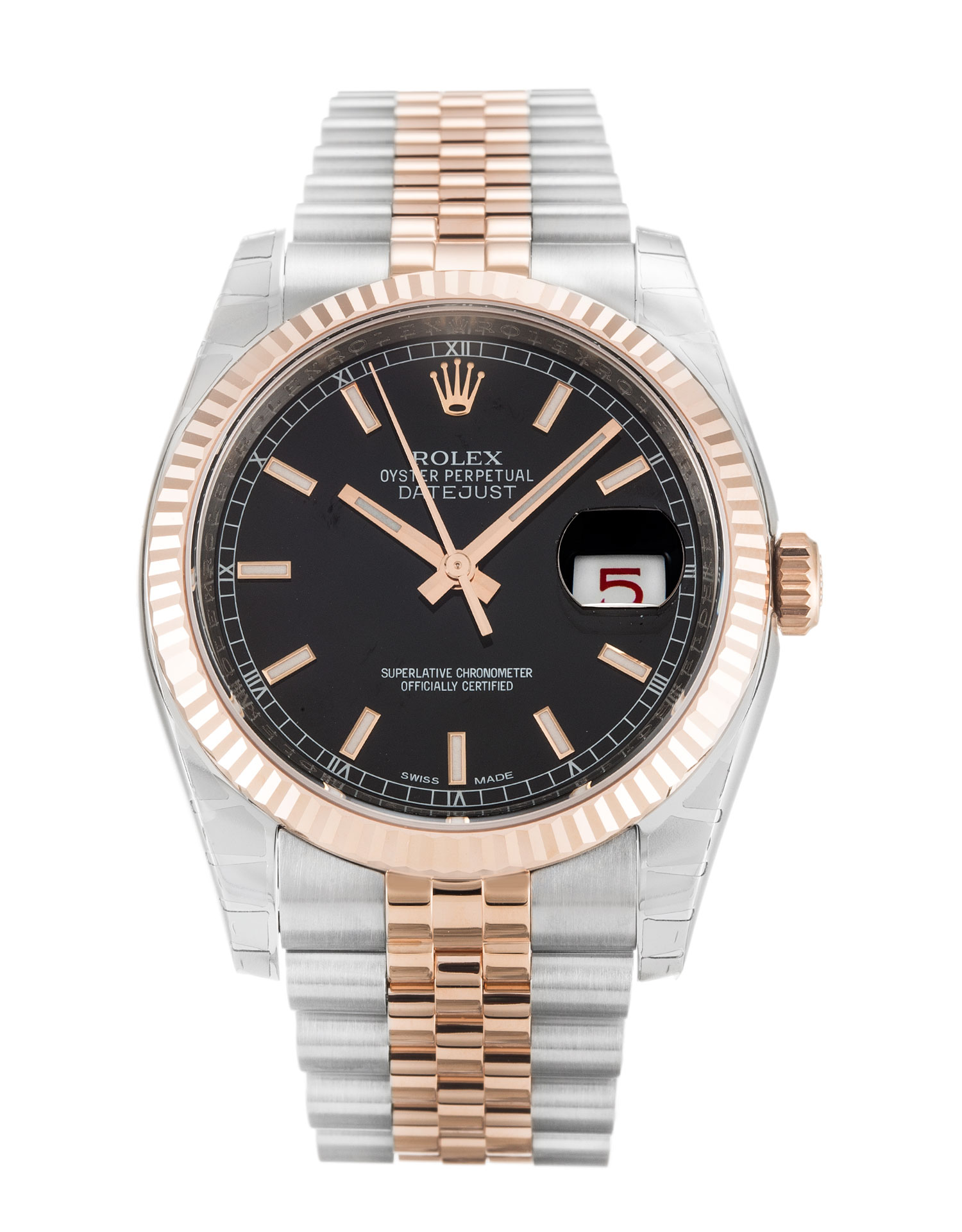 Rolex Datejust 116231 Mens 36 Mm Steel & Rose Gold Case Automatic Movement – iapac.to