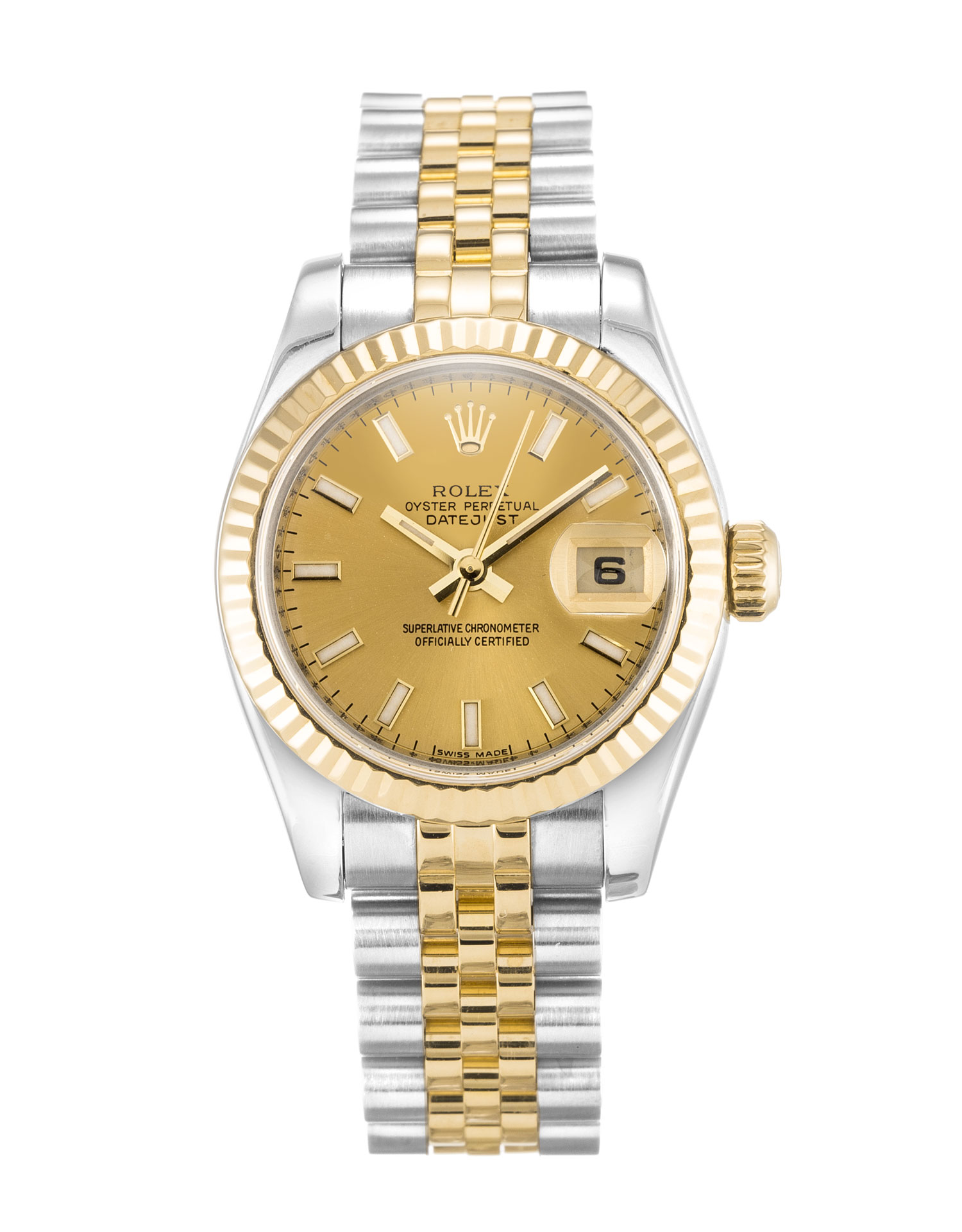 Rolex Datejust Lady 179173 Ladies 26 Mm Steel & Yellow Gold Case Automatic Movement – iapac.to
