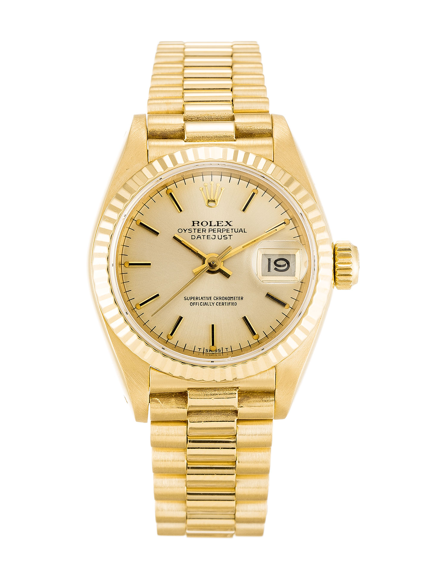 Rolex Datejust Lady 69178 Ladies 26 Mm Yellow Gold Case Automatic Movement – iapac.to